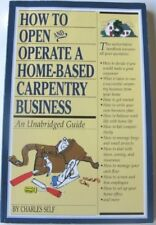How to Open and Operate a Home-Based Carpentry Bus