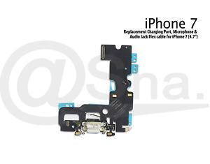 "Charging Unit Dock Port & Mic & Headphone Jack Flex Cable For iPhone 7 (4.7"")"