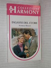 INGANNI DEL CUORE Patricia Wilson Harlequin Mondadori 1991 harmony 769 romanzo