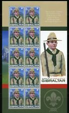 GIBRALTAR - 100TH ANNIVERSARY SCOUTING   2007  S280
