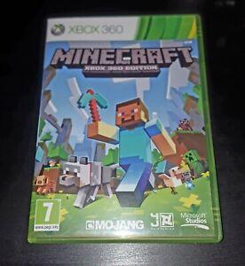 Minecraft Microsoft Xbox 360 Kids Game, VGC, 1st Class Post