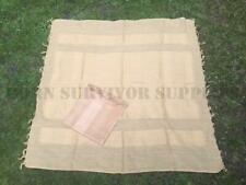 BRITISH FORCES ISSUE SHEMAGH HEAD SCARF - Army Neck Wrap Cotton Cloth Desert Tan