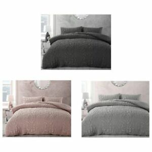 VELOSSO ALINI Quilted Duvet Cover Bedding Set Single, Double & King Size