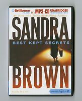 Best Kept Secrets  by Sandra Brown - MP3CD - Audiobook