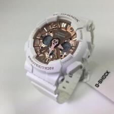 New Casio G-Shock GMAS120MF-7A2 S-Series Ana-Digital White / Rose Women Watch