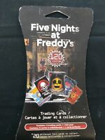 Five Night's at Freddy's 20 assorted foil cards to collect one pack of cards