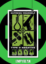 Type O Negative EXPRESS YOURSELF The Origin Of The Feces Poster Art Print