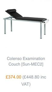 Sunflower Medical Examination Couch (New)
