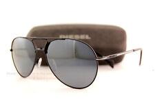 Brand New Diesel Sunglasses DL 0163 Color 02C Black/Grey with Silver Mirror  Men