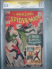 Amazing Spider-Man #2 CGC 3.5 SS **Signed Stan Lee** 1st Vulture (Adrian Toomes)