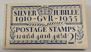 BB16 1935 Britain Silver Jubilee 2/Booklet GEM NH Complete & Unexploded SG#453-5