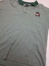Vintage Looney Tunes Warner Bros Golf Polo Shirt Taz Size XL