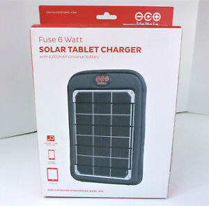 Voltaic System Fuse 6W Portable Solar Charger Battery Pack Multi Device 4,000mAh