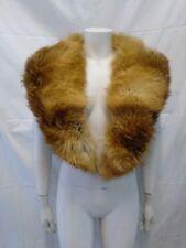 collo stola scialle donna vera pelliccia volpe rossa cm 124 x cm 14