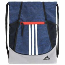 New Adidas Navy/Gray Alliance II Drawstring Backpack