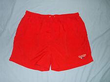 CHAPS Ralph Lauren Men's Swimming Shorts Red XL Nylon trunks
