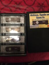 Micro-Trains MTL Z-Scale 50ft Box Cars Santa Fe/ATSF Brown/White Runner 4-Pack