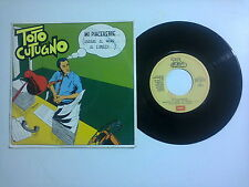"""Toto Cutugno – Mi Piacerebbe... - Disco Vinile  45 giri 7"""" (Stampa Italia)"""