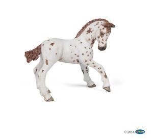 Papo 51510 Puledro appaloosa marrone Brown appaloosa foal Poulain appaloosa brun
