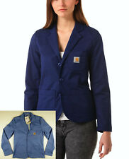 G142 CARHARTT X' SID BLAZER jacket (aster blue rigid) size M wmns, BNWT!