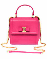 Ferragamo - Vara Bow Top Handle Bag Fuchsia 21G646-683714