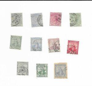 Trinidad 1880's fine used group