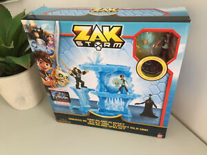 NEW Zak Storm Sino Island Playset And Coin Ban Dai AppStore BOXED & SEALED