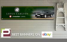 Lotus Carlton Banner, para taller, garaje, oficina, XL 2000 Mm x 500 mm, OPEL