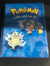 Pokemon Karten Album, Ordner 4er Pocket Old School, Turtok Muster, selten