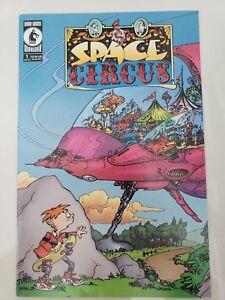 SPACE CIRCUS #1 & 2 (2000) DARK HORSE COMICS SERGIO ARAGONES! MARK EVANIER! NM
