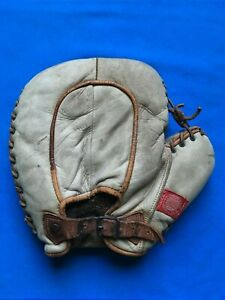 AWESOME antique 1920s Spalding basemitt great patch ex cond vintage glove RARE !