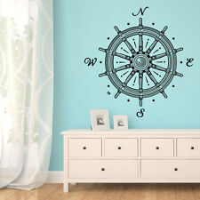 Navigation Compass Bedroom Decor Sticker Art Wall Mural Vinyl Removable Decal