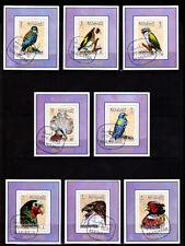 *** BIRDS *** = 8 Beautiful Matching Deluxe Mini-Sheet Set