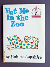 PUT ME IN THE ZOO Robert Lopshire Vintage Book HB 1960 DJ Early Printing B-17