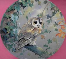 ROYAL DOULTON TIME FOR REFLECTION TAWNY OWL PLATE SILENT WINGS P PICKERING