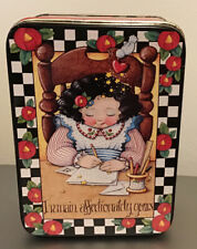 "New ListingVintage Mary Engelbreit ""I Remain Affectionately Tin 9 X 5� Valentine's Day"