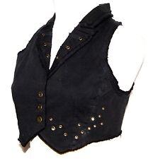 M Gothic Goth Steam Punk Grunge Belly Dancing Tribal Hipie Gypsy Vest Top S 10