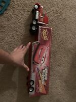 Disney Pixar Cars Mack Hauler 95 Lightning McQueen Trailer Truck Toy