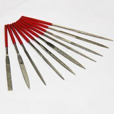 10 piezas Aguja Juego de limas Para Metal Cristal Piedra Joya madera tallado