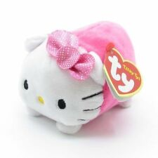 "TY Teeny Tys Hello Kitty Beanie Babies 3"" Stuffed Plush Toy Stackable Tsum Tsum"