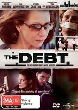 The Debt (Dvd) Drama, Thriller, Helen Mirren, Sam Worthington, Tom Wilkinson