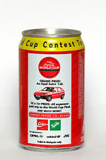 1994 Coca Cola can from Malaysia, World Cup Contest / Opel Astra 1.6i