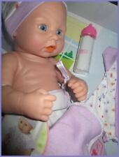 "Anatomically Correct Baby Real Girl Doll 12"" Lifelike Newborn 4 Reborn Lavender"
