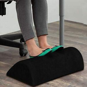 Office Foot Rest Under Desk Ergonomic Foot Cushion Half Cylinder Pillow