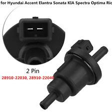 Black Vapor Canister Solenoid Purge Valve for Hyundai Accent KIA 28910-22040