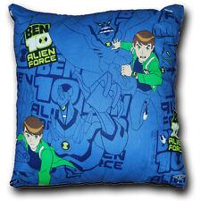 "BEN 10, Cartoon, TV Theme - Kids Filled Printed Cushion Pad - 12"""