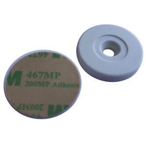 NFC Tag Ntag216 anti metal Adhesive Back 30mm Dia (pack of 5)