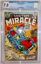 Mister Miracle 6 1972 CGC 7.0 DC Jack Kirby 1st Appearance Female Furies