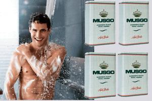 4 Claus Porto MUSGO REAL Ach Brito 4x160gr / 5.3oz Men Smooth Soap