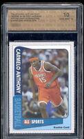 2003 Carmelo Anthony All Sports rookie gem mint 10